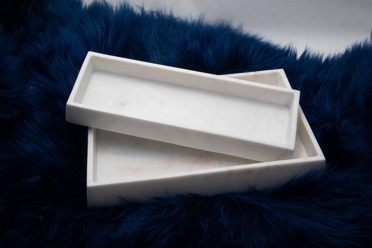 Marble Tray, bandeja de mármol | alvaluz.com