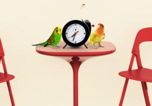 Tweet Clock (Reloj Chirping) | alvaluz.com