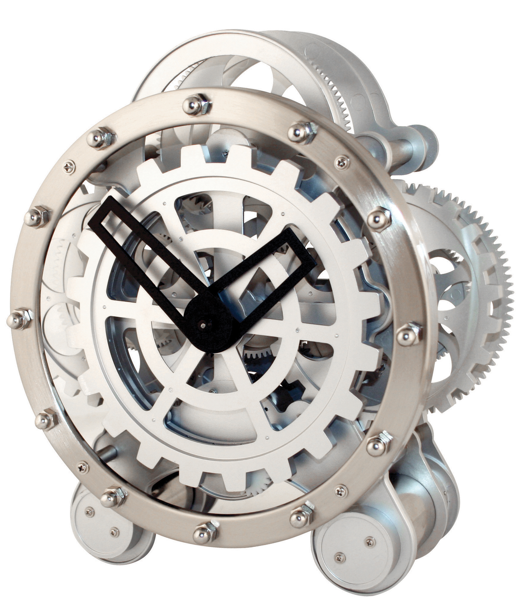 Gear Clock | alvaluz.com