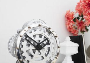 Gear Clock | alvaluz.com