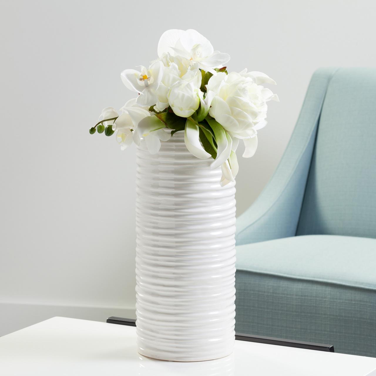Ripple Cylinder Vases | alvaluz.com