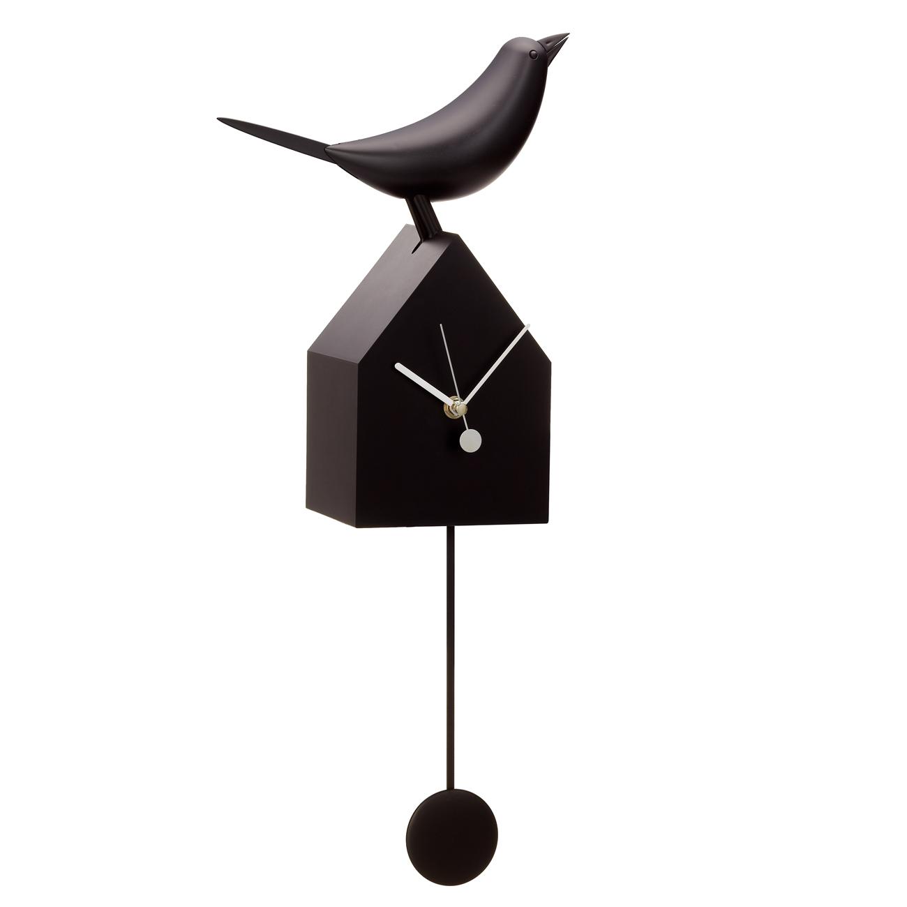 Motion Birdhouse Clocks with Removable Pendulum | alvaluz.com