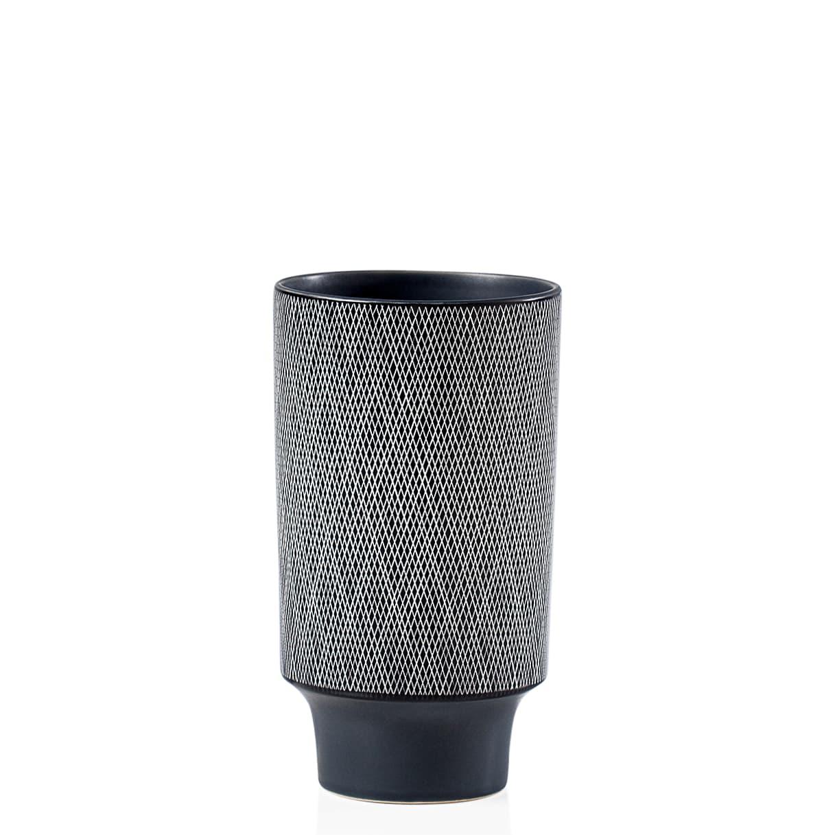 Bergen Weave Ceramic Tapered Vases | alvaluz.com