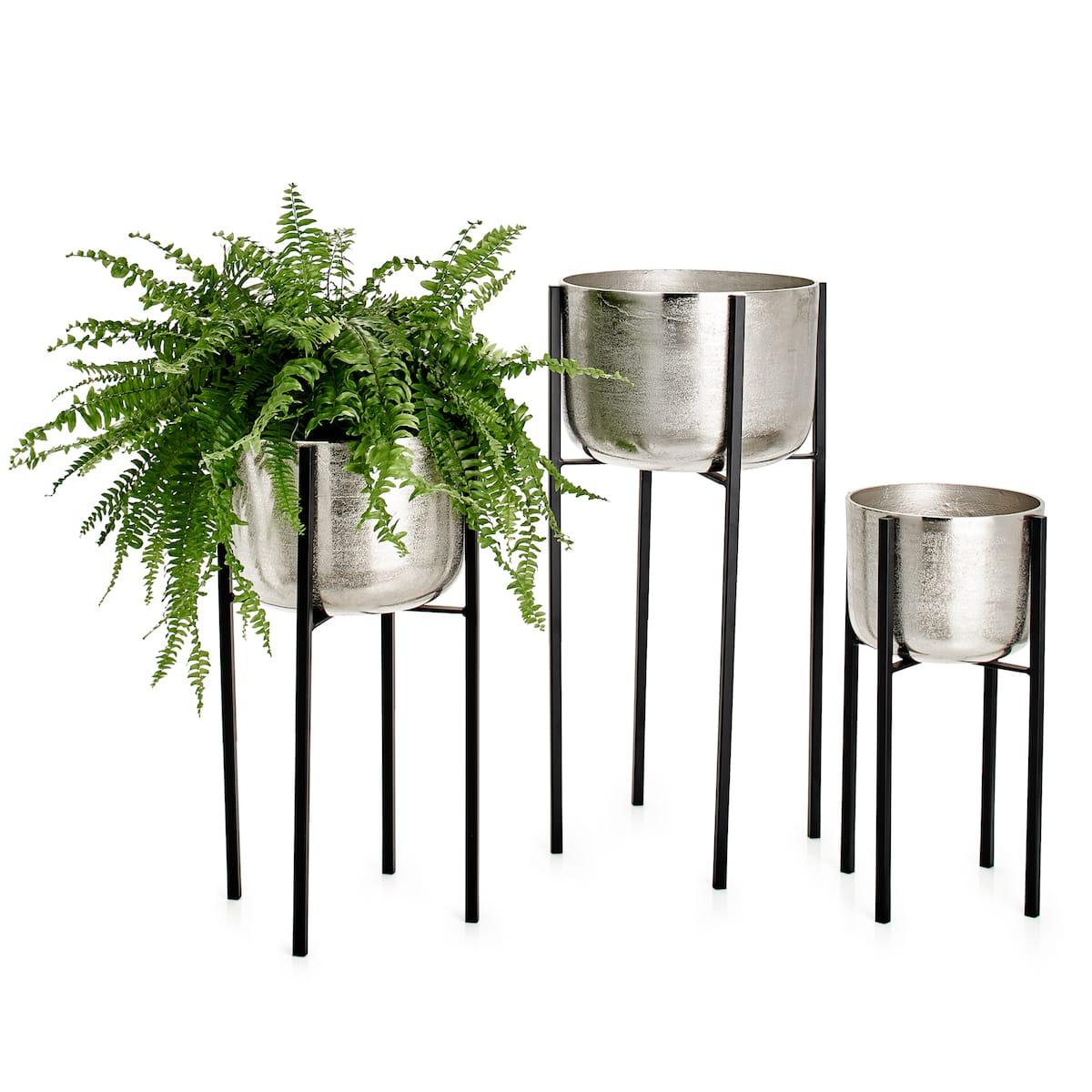 Basin Aluminum Standing Planters