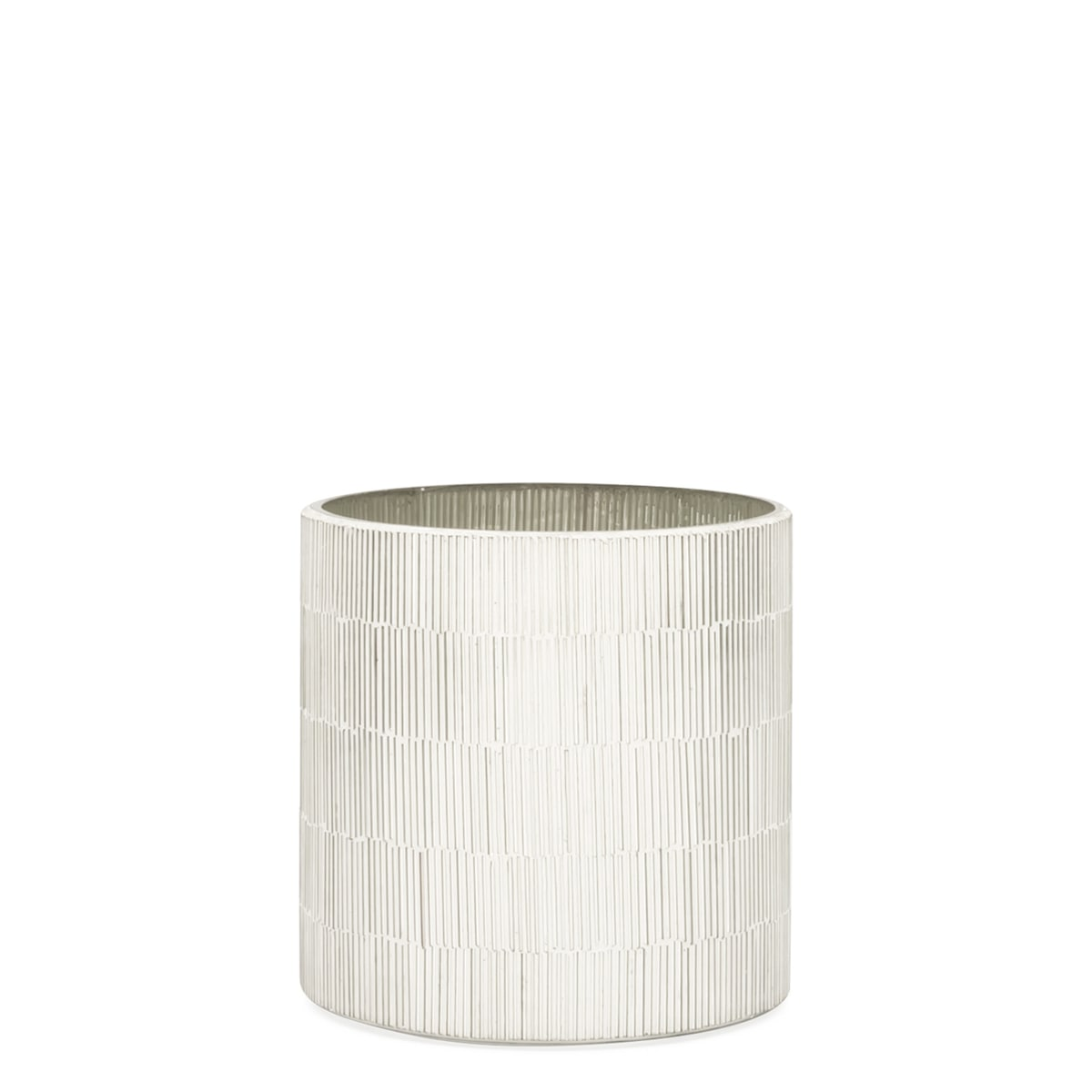 Bamboo Glass Mosaic Tealight Holders | alvaluz.com