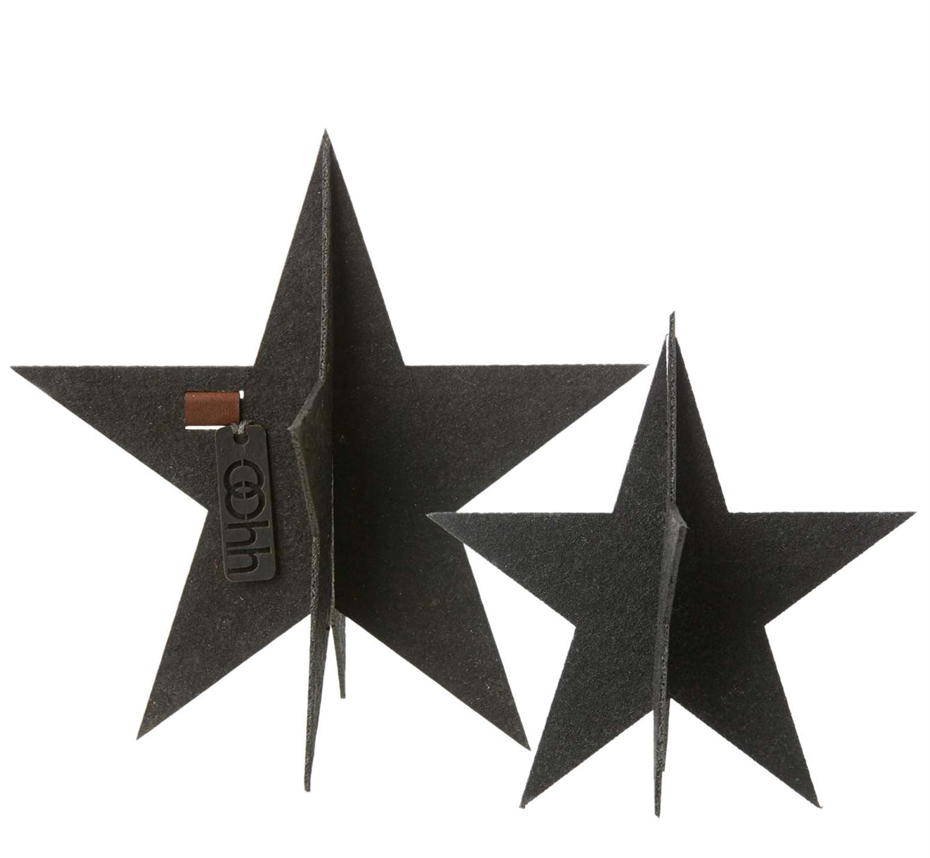 Eco Felt Standing Stars | alvaluz.com
