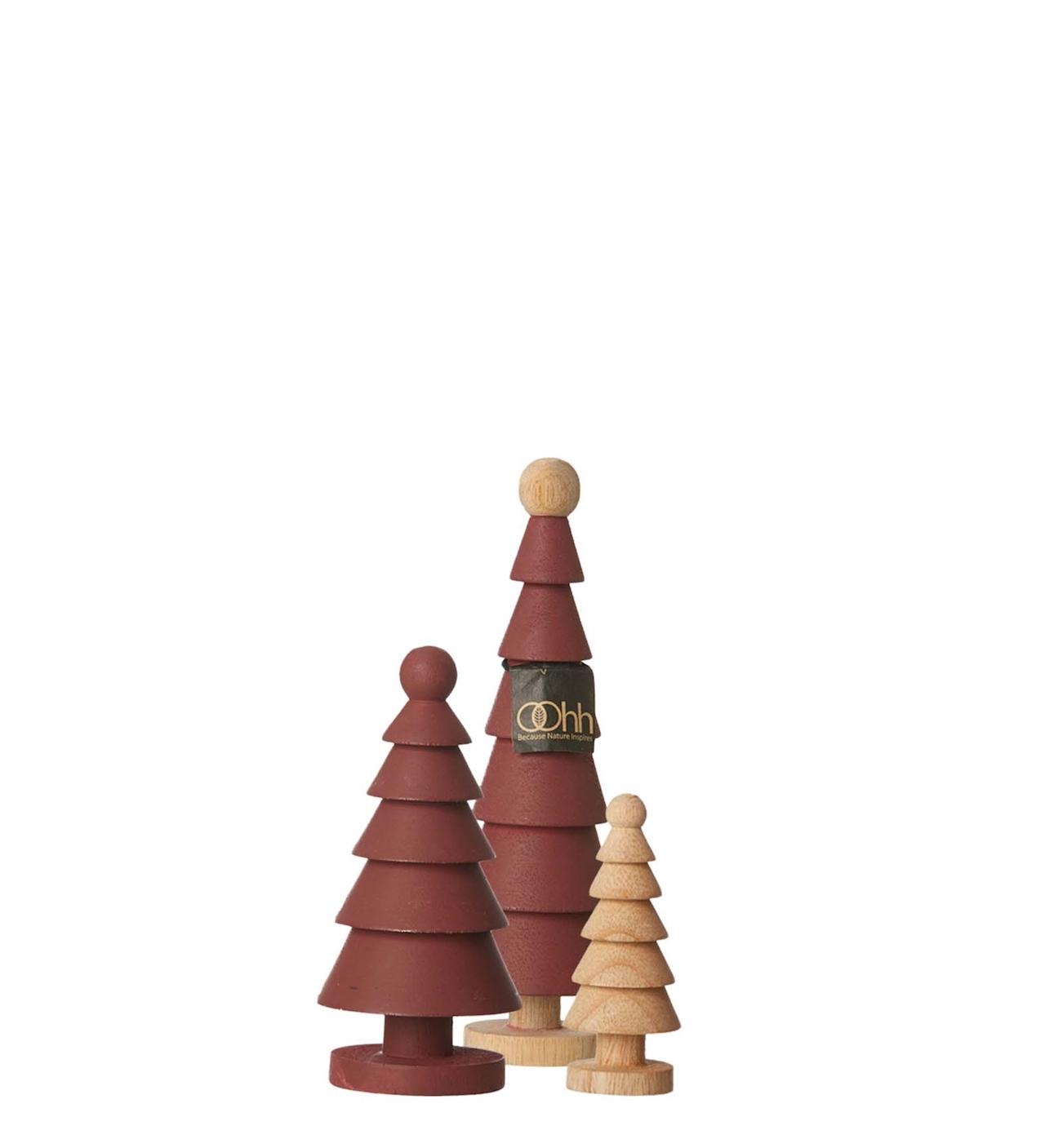 Mahogany Wooden Trees | alvaluz.com