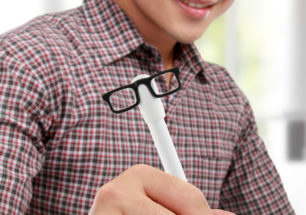 Indubitably Talking Pen Glasses | alvaluz.com