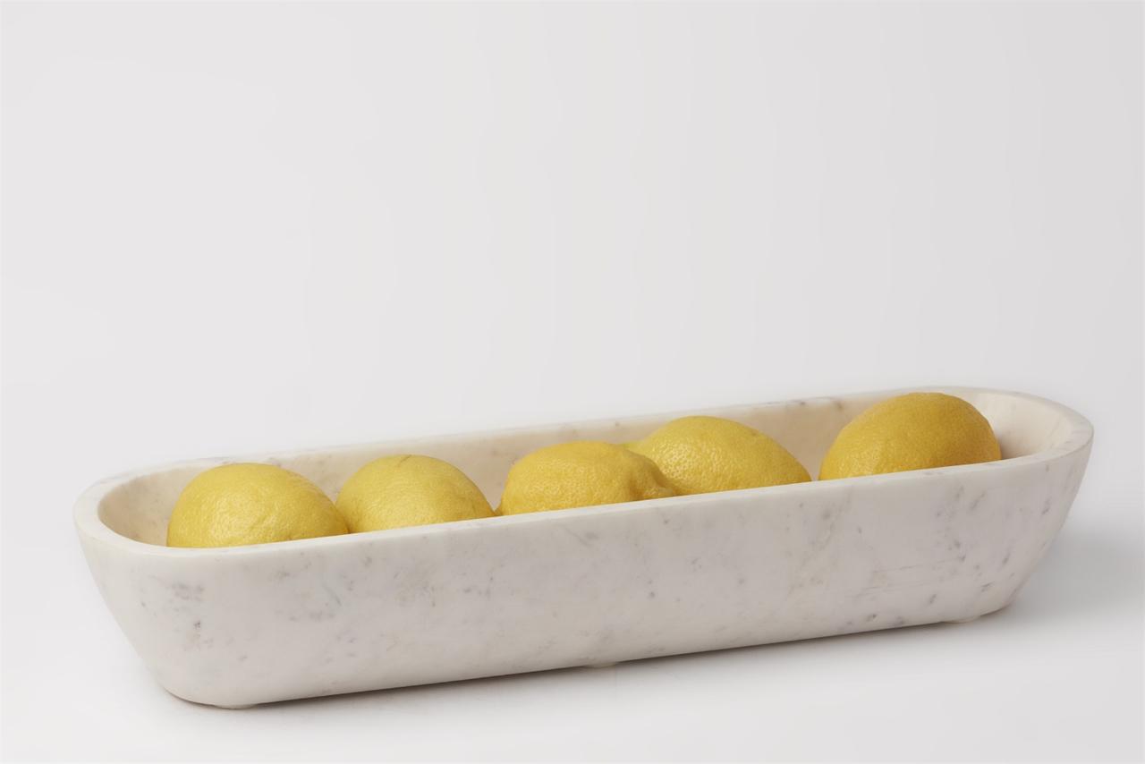 Organic Shaped Oval Bowl | alvaluz.com