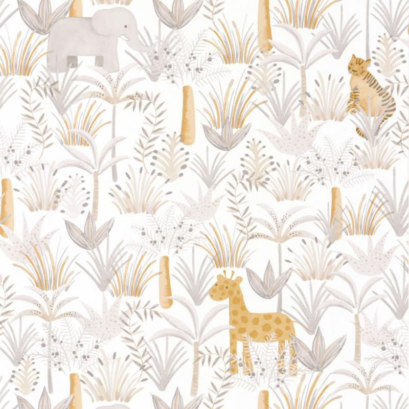 Papel tapiz en Guadalajara, colección Rose & Nino de Casadeco | alvaluz.com
