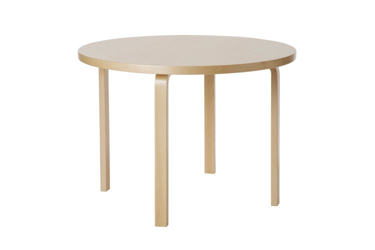 Aalto Table round A90 | alvaluz.com