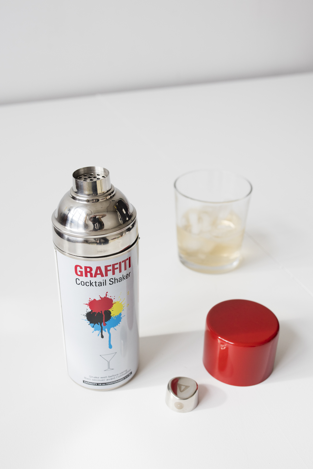 Graffiti Cocktail Shaker | alvaluz.com