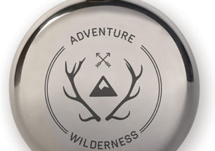 Flask + Wilderness Badge | alvaluz.com