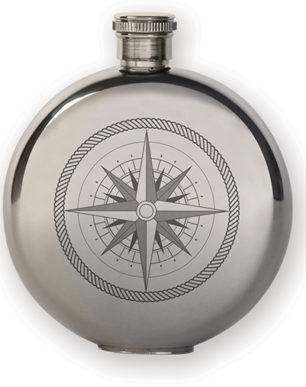Compass Canteen Flask Small | alvaluz.com