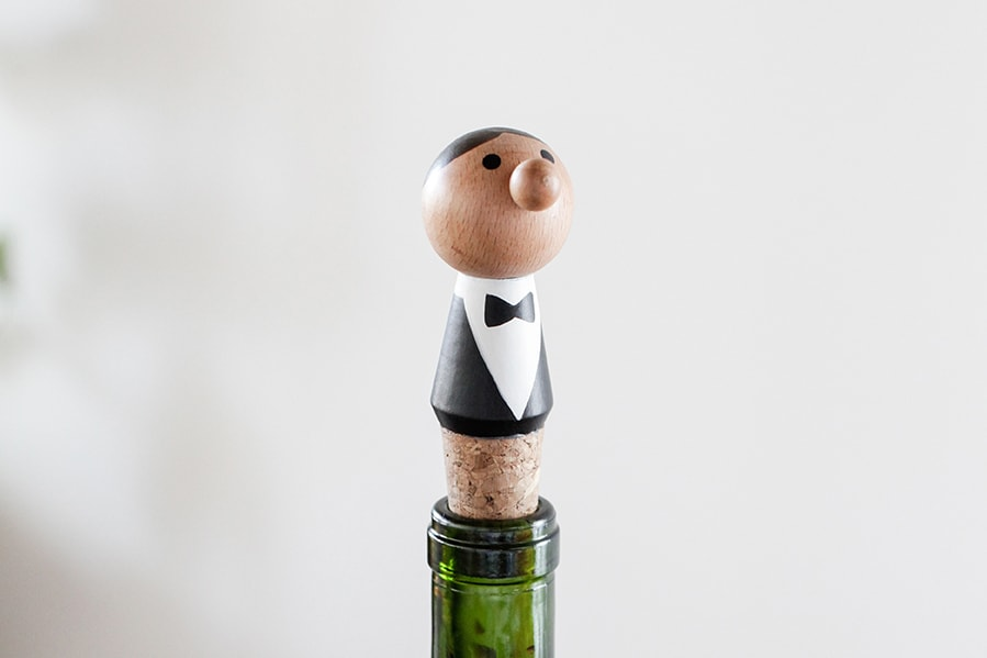 BA60 Wine Stopper + Waiter | alvaluz.com