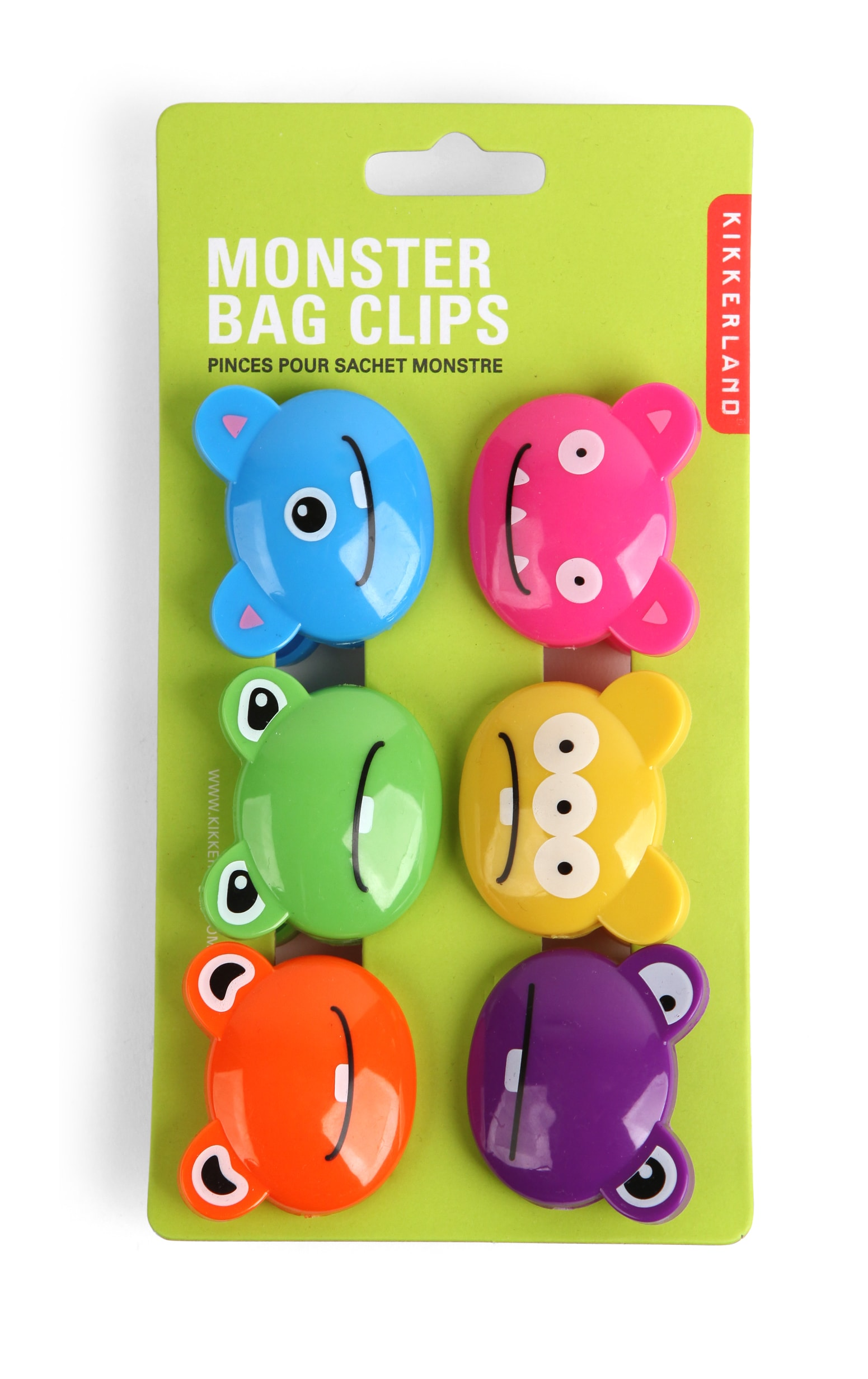BC05XM Bag Clips Crazy Monsters | alvaluz.com