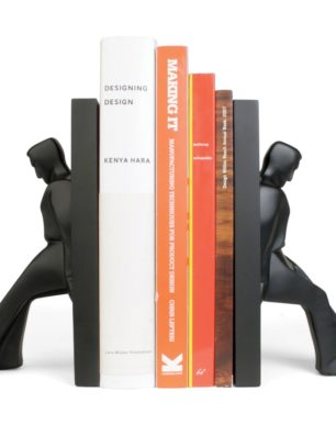 BE01L Bookends Leaning Men | alvaluz.com