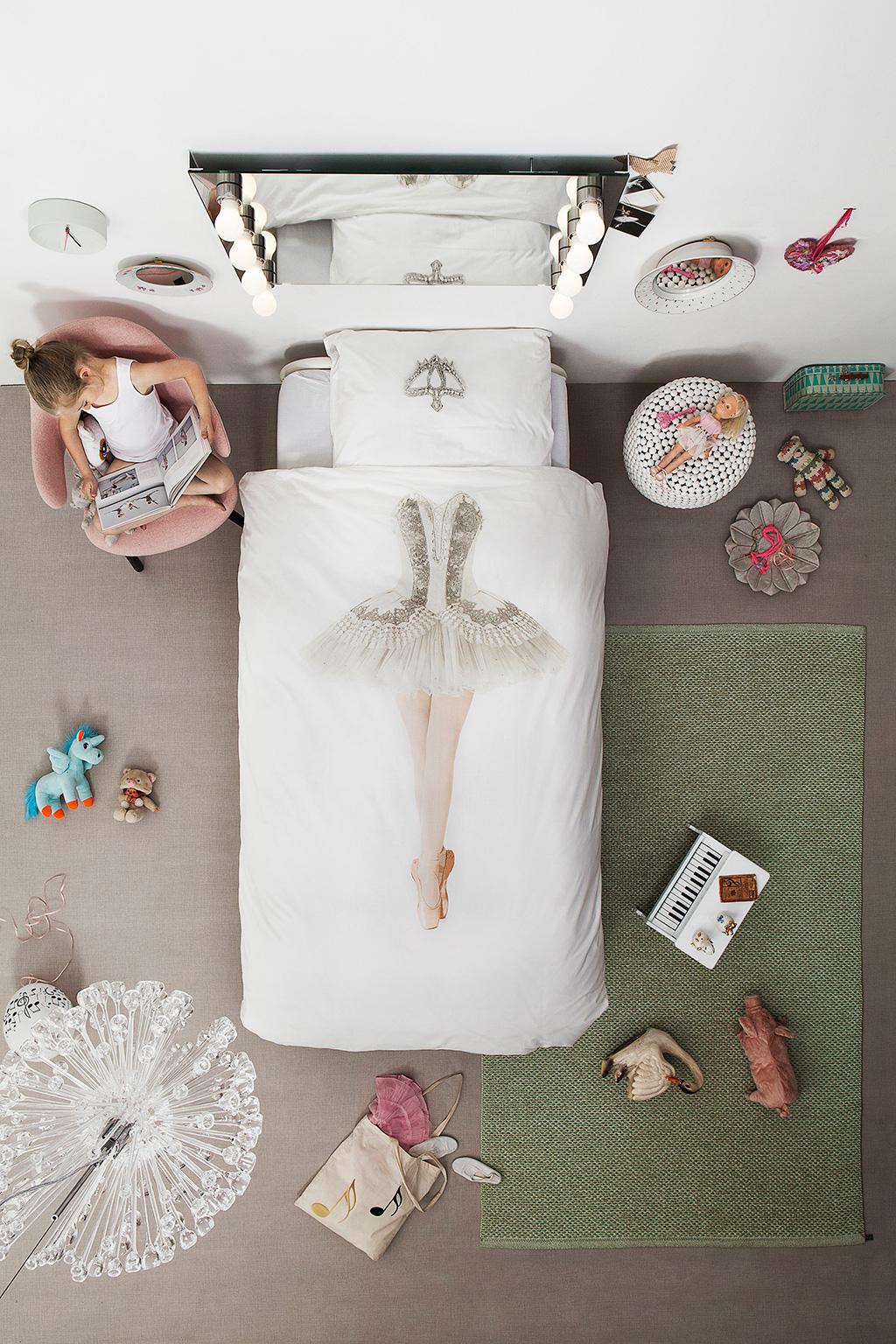 Ballerina duvet cover | alvaluz.com