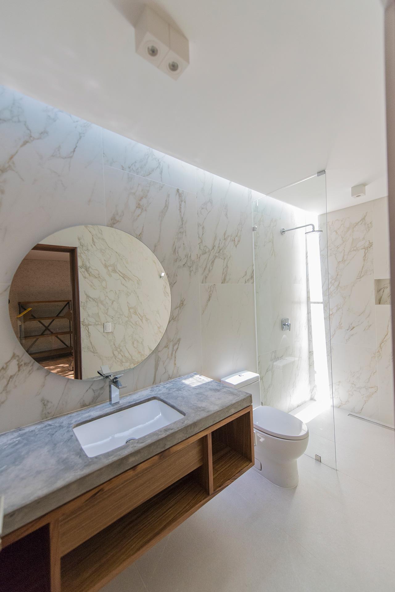 Villas Tres Marías - baño de la novia diseñado por Alvaluz | alvaluz.com