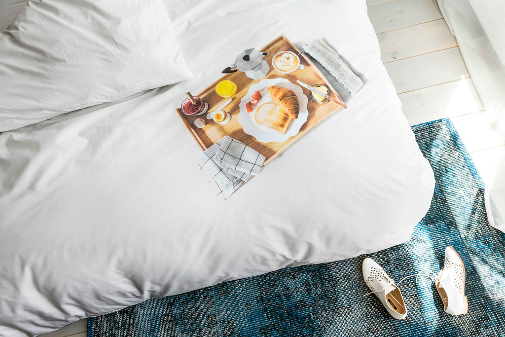 Breakfast duvet cover | alvaluz.com