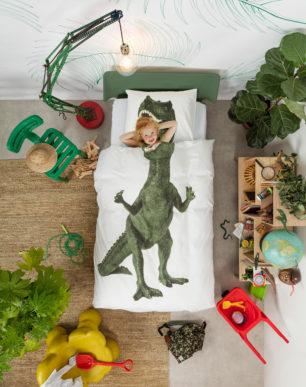 Dinosaurus Rex duvet cover | alvaluz.com