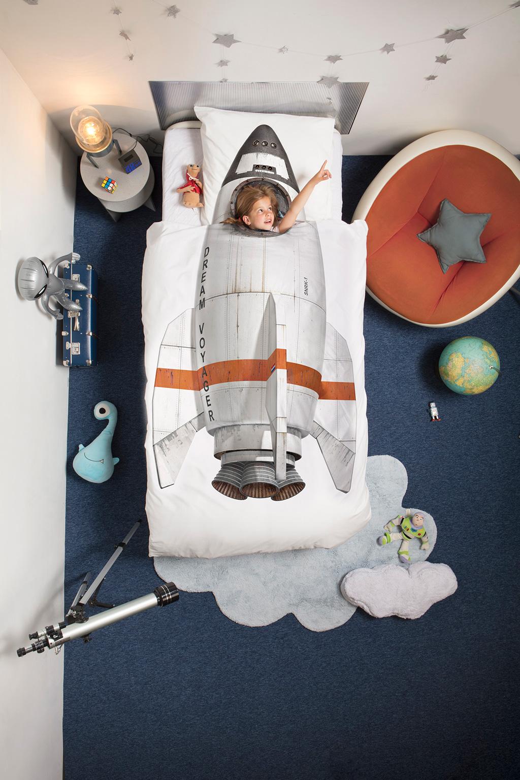 Rocket duvet cover | alvaluz.com