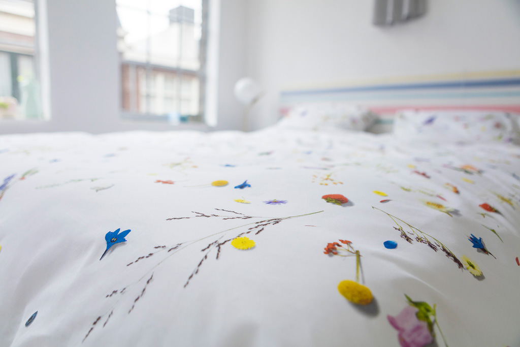 Flower Fields duvet cover | alvaluz.com
