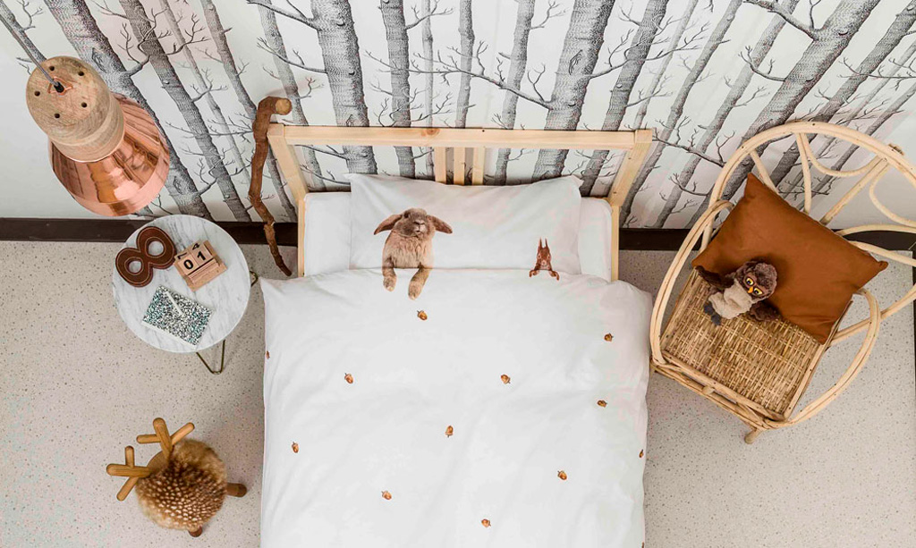 Furry Friends duvet cover | alvaluz.com