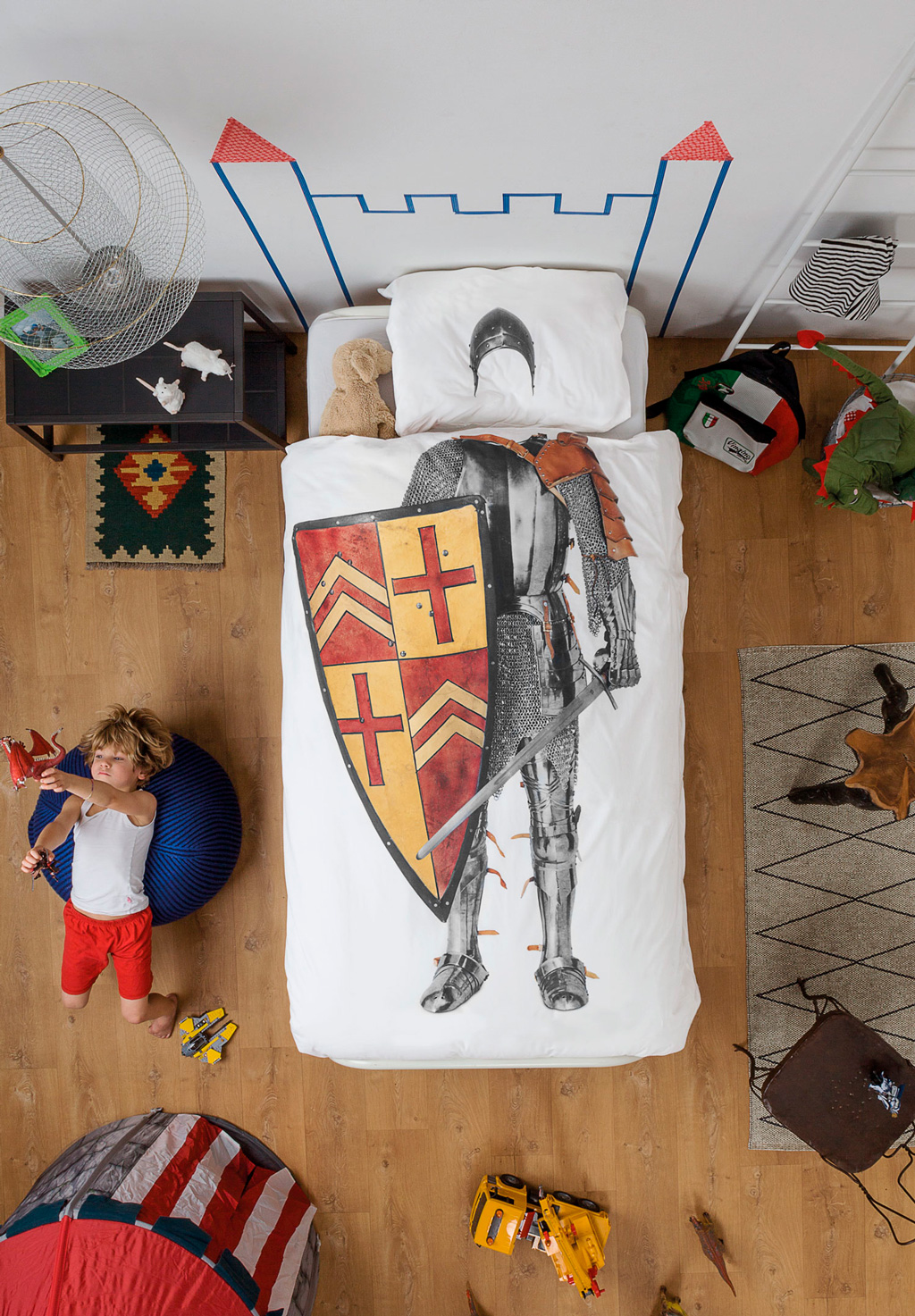 Knight duvet cover | alvaluz.com