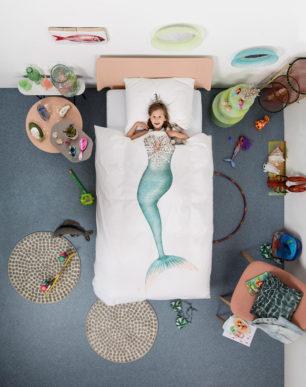 Mermaid duvet cover | alvaluz.com