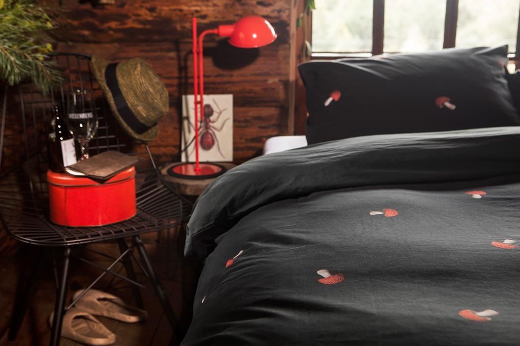 Mushroom duvet cover | alvaluz.com
