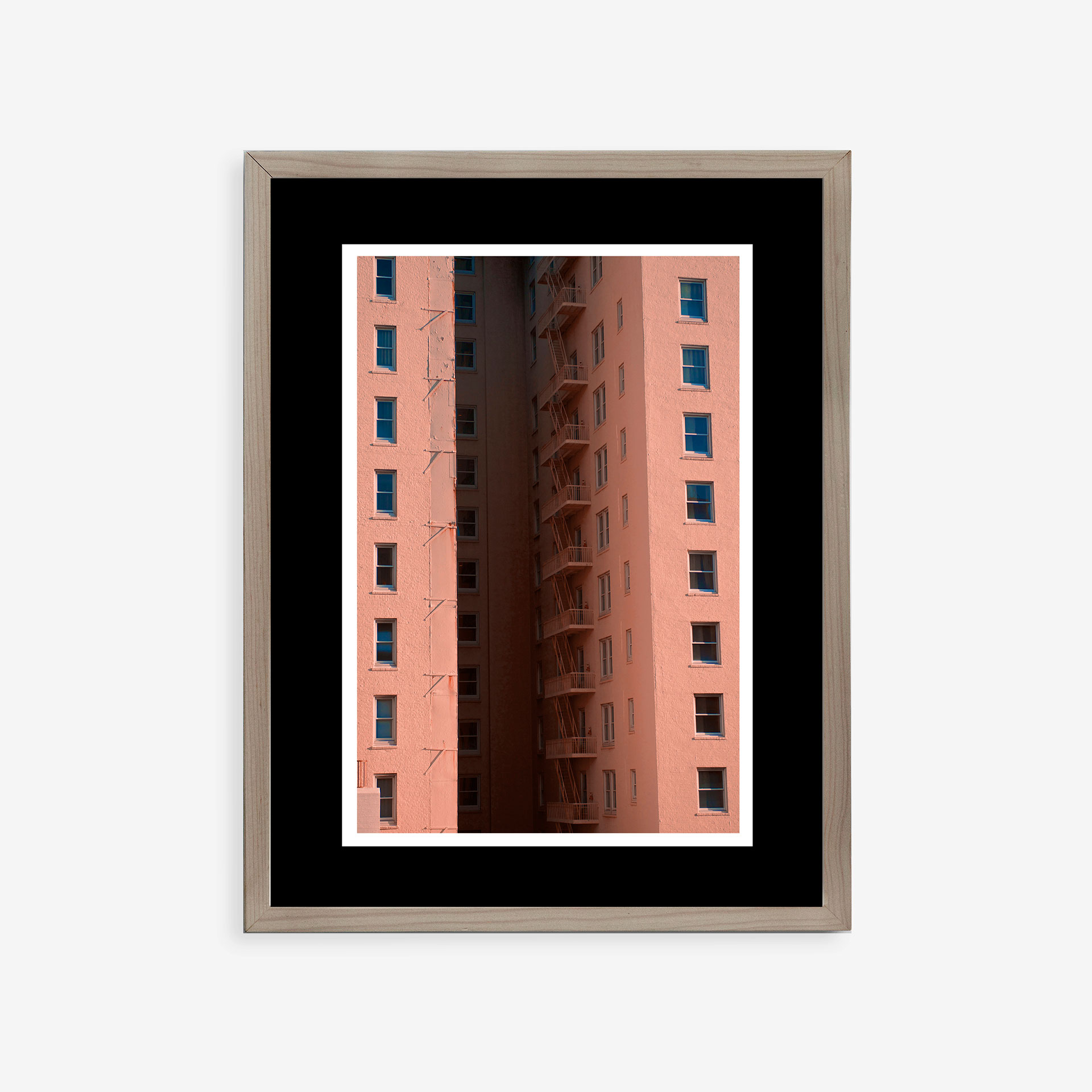 Pale Pink Building by Sebastián Lara | alvaluz.com