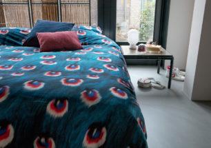 Peacock Fur duvet cover | alvaluz.com