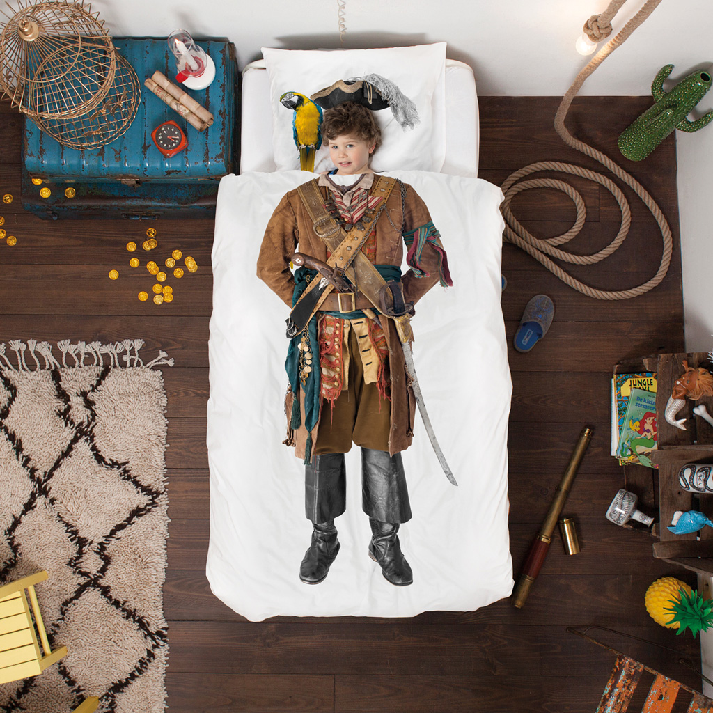 Pirate duvet cover | alvaluz.com