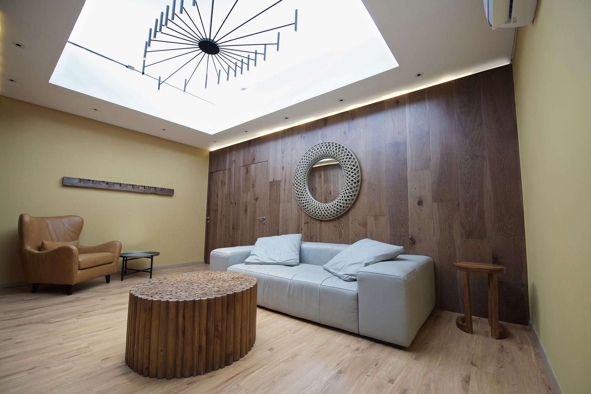 Sala Domo en Villa Tres Marías diseñado por Alvaluz | alvaluz.com