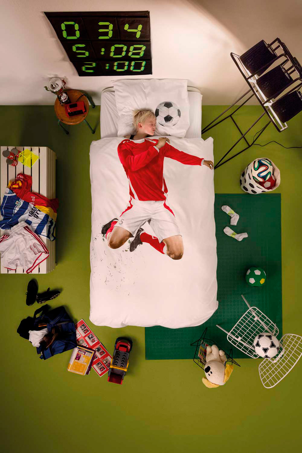 Soccer champ duvet cover | alvaluz.com