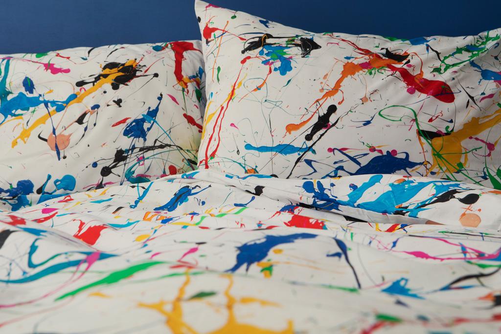 Splatter duvet cover | alvaluz.com