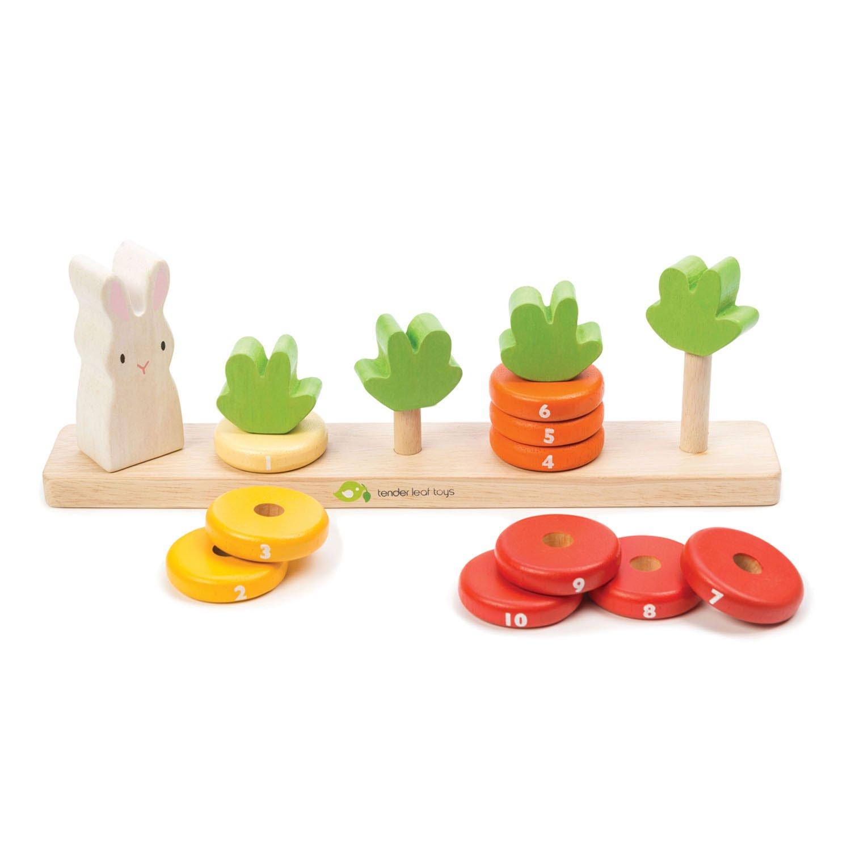 Counting Carrots | alvaluz.com
