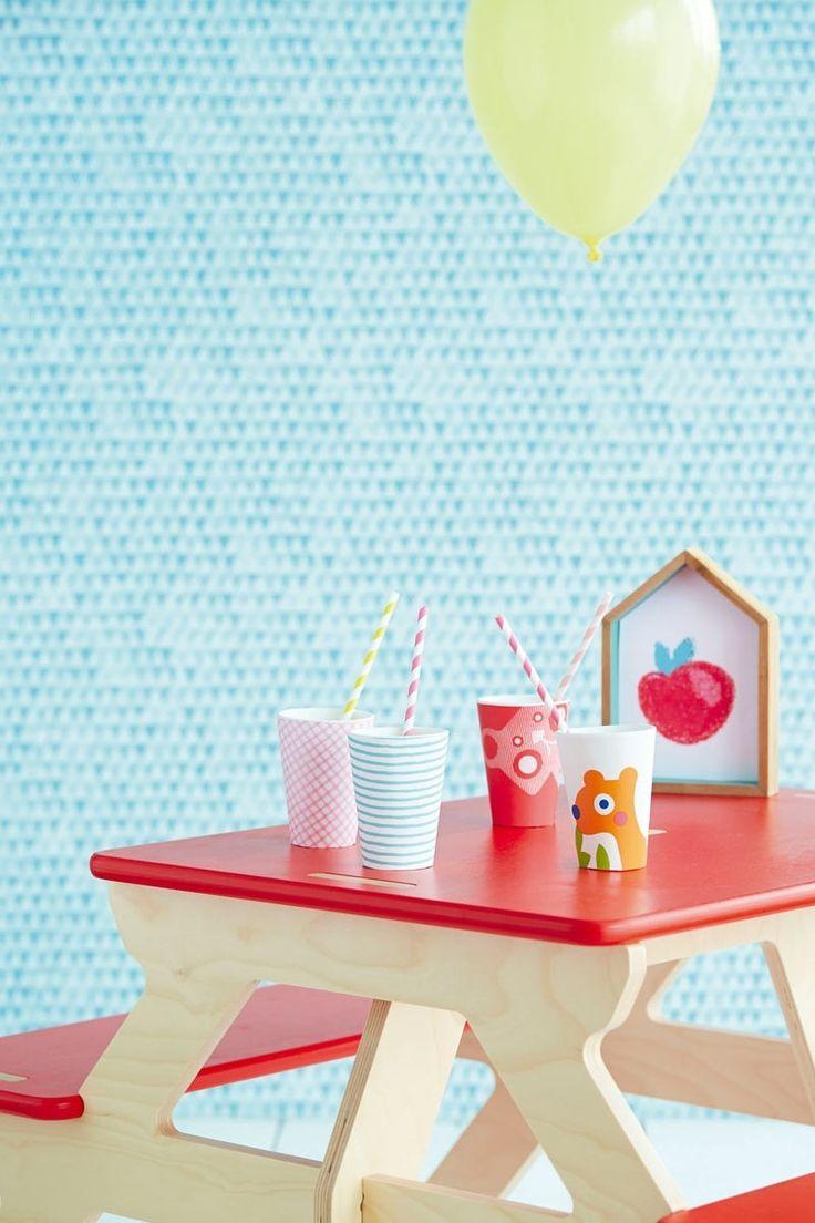 Papel tapiz TOUT PETIT para recámaras de niños | alvaluz.com