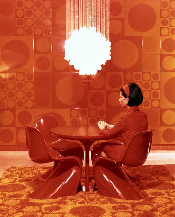 Verner-Panton-Textiles-Wall-Floor-Chairs-Chandelier-Mid2Mod-Yatzer