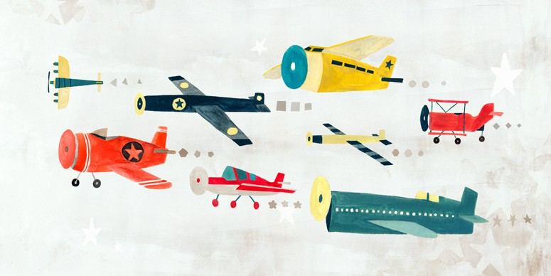Airplanes on the move | alvaluz.com