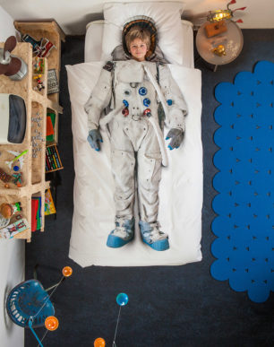 astronaut duvet cover | alvaluz.com
