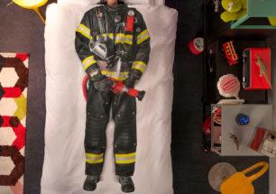 firefighter duvet cover | alvaluz.com