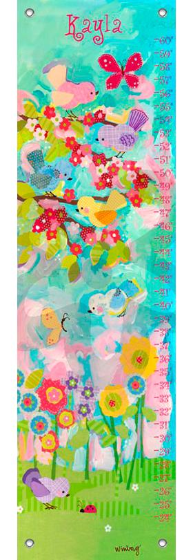 Cherry blossom birdies | alvaluz.com