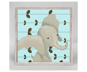 Edison the elephant blue | alvaluz.com