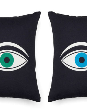 Graphic Print Pillows - Eyes | alvaluz.com