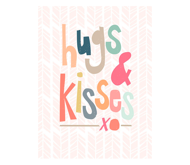 Hugs and kisses | alvaluz.com
