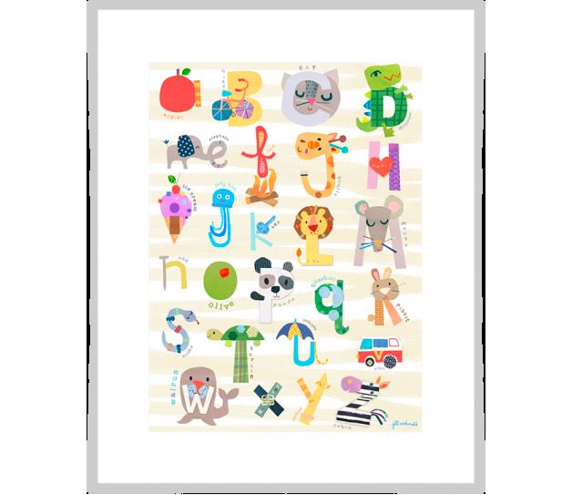 Iconic Alphabet | alvaluz.com