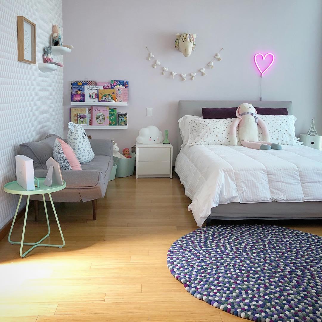 Habitación de niña Casa del Sol | alvaluz.com