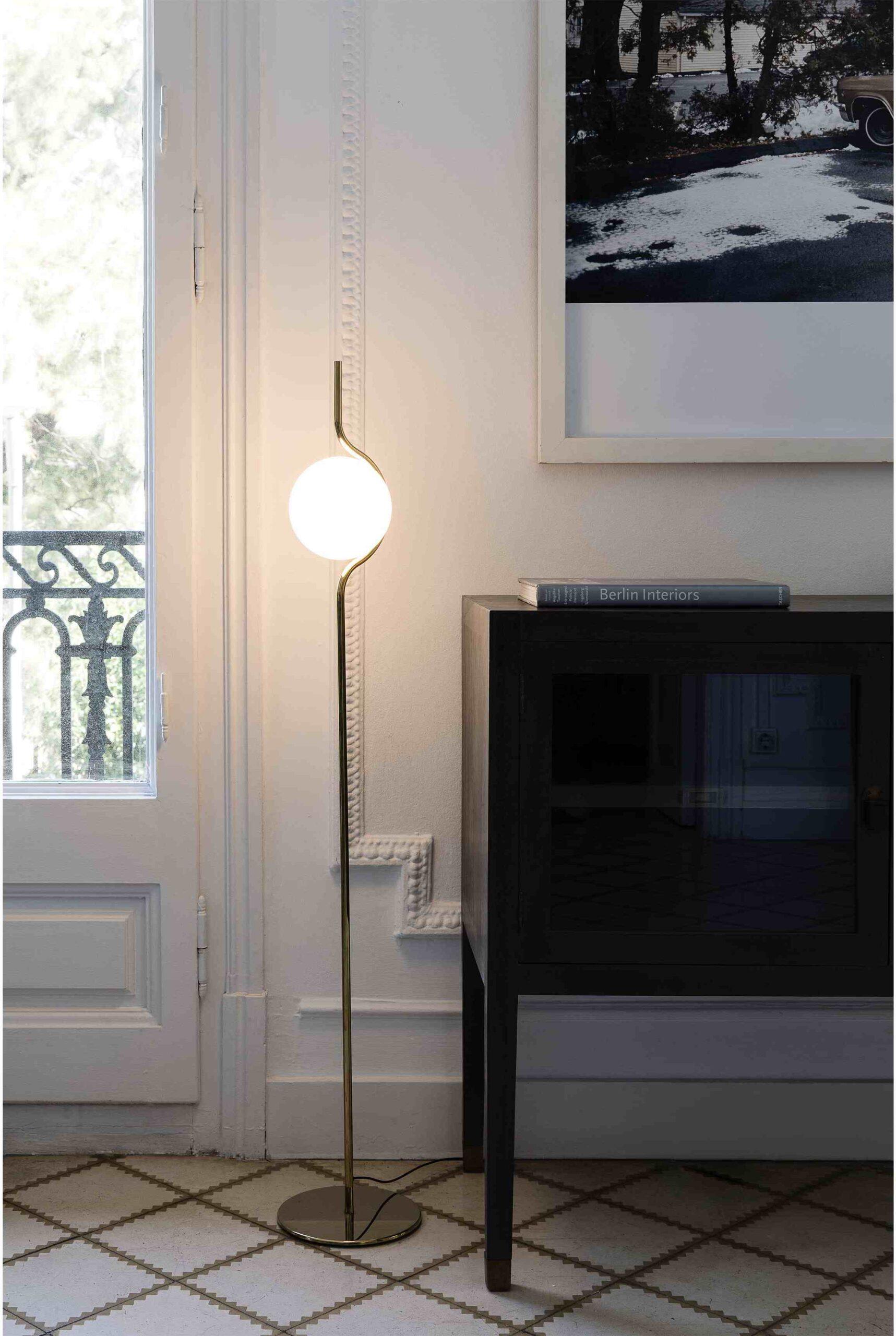 Le Vita lámpara de piso   alvaluz.com